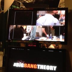 Monitor from audience during taping.