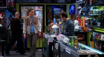 S5EP15 - Sheldon enters the comic book store