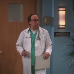 Mrs. Wolowitz's doctor.