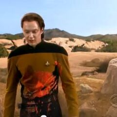 I hate this planet. Sheldon as Data.