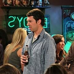 Zack at the bar.