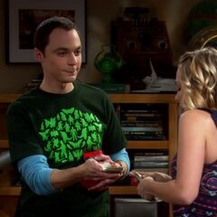 Sheldon offering Penny a loan.