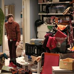 The mess in the closet.
