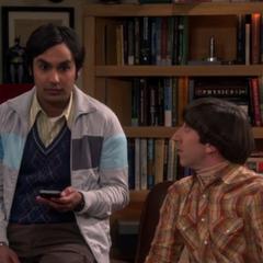 Raj talking about Siri.