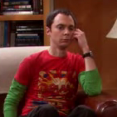 Sheldon is perplexed.