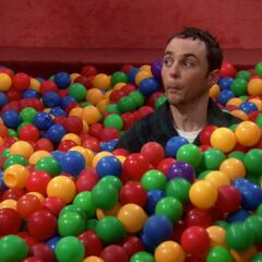 More Bazinga in the ball pit