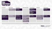 Big Brother Over The Top Schedule - EMBED