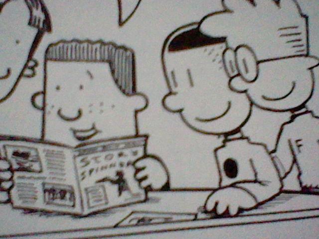 how to draw big nate comics