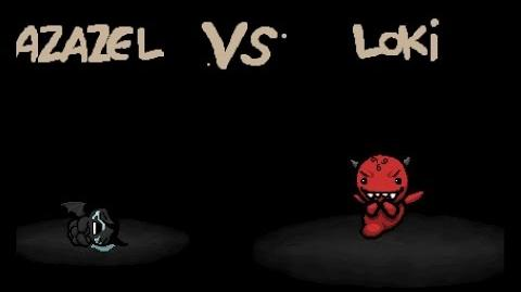 "The Binding of Isaac Rebirth ""Loki"" boss"