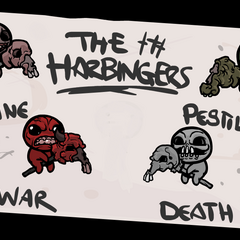The Harbingers as seen in the credits