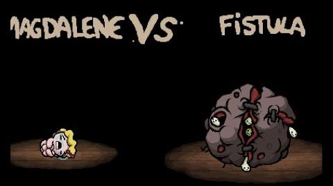 "Binding of Isaac Rebirth ""Fistula"" boss"