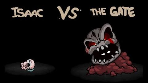 "The Binding of Isaac Rebirth ""The Gate"" boss fight"