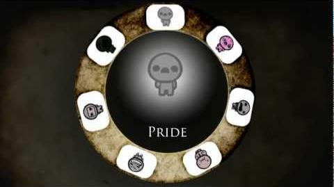 Binding of Isaac 7 Deadly Sins - Pride