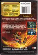 Back cover of Bionicle the Movie 1