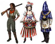 BioShock Infinite Characters Concept Art