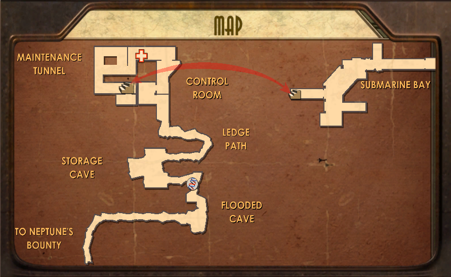 Smuggler's Hideout Map