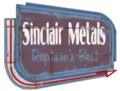 Sinclair Metals Sign arrow.png