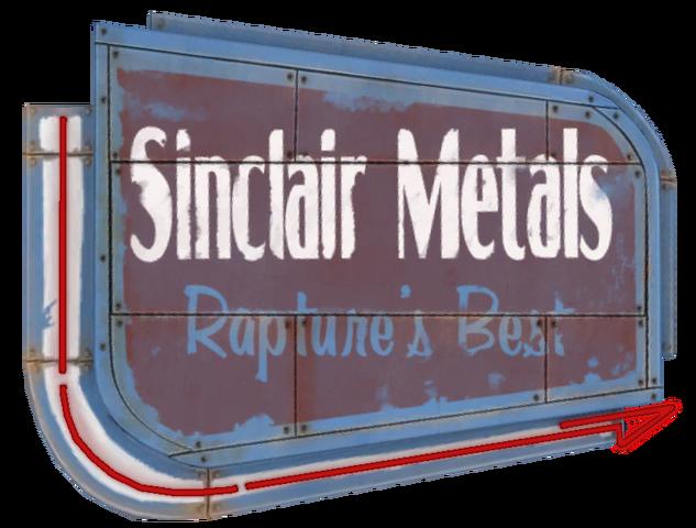 File:Sinclair Metals Sign arrow.png