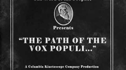 BioShock Infinite The path of the Vox Populi..