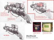BioShock Grenade Launcher Concept