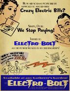 Electro-bolt poster