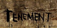 Tenement Sign Crude