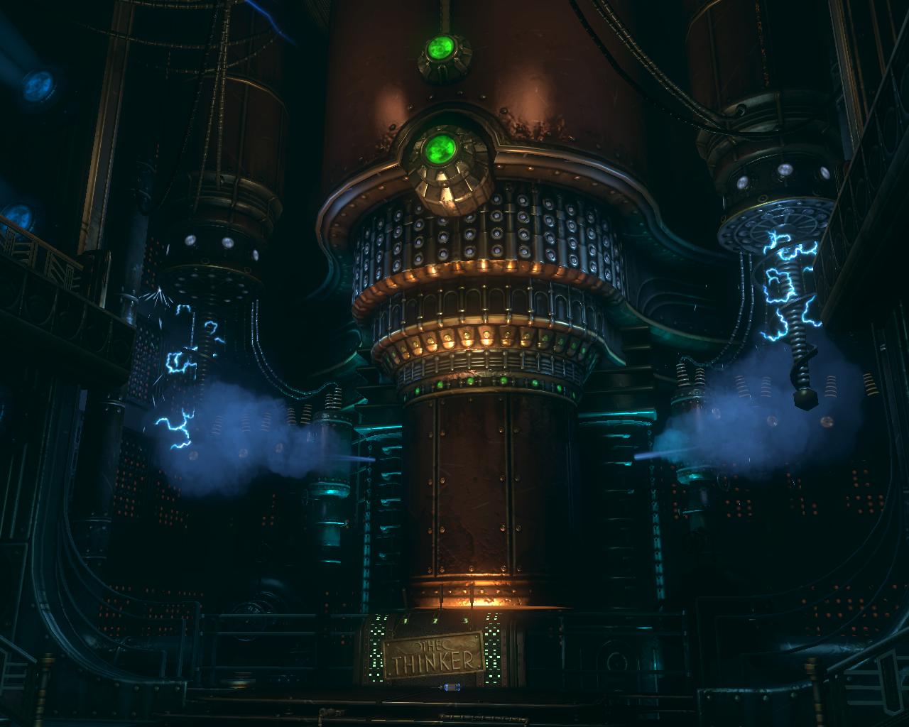 The Thinker Level Bioshock Wiki Fandom Powered By Wikia