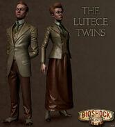 Bioshock infinite the lutece twins by mrgameboy2013-d6h84xw