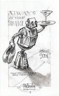 Service Bot Advertisement Concept