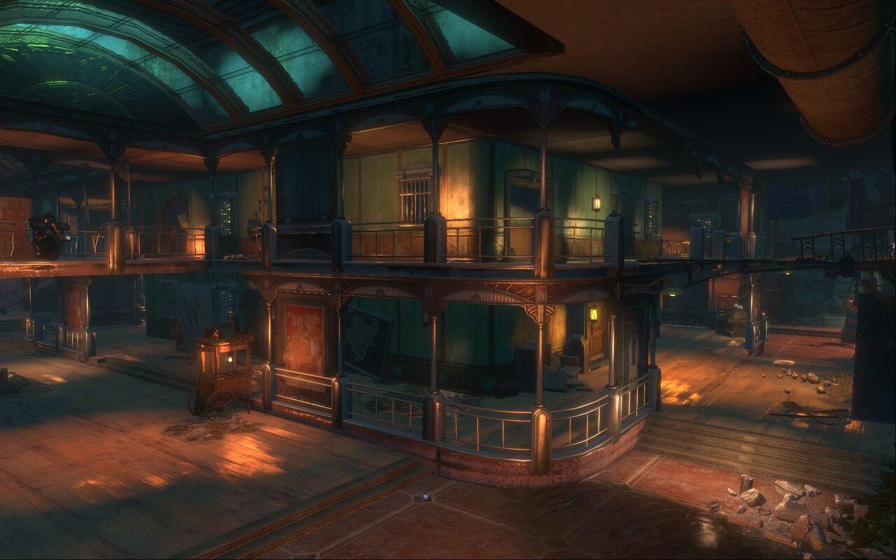 Siren Alley - BioShock 2
