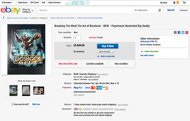 File:Fake-BioShock-Breaking-the-Mold-Artbook-on-eBay-555canada-Auction.png