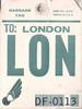 London baggage check