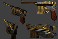 BI Golden Pistol Model