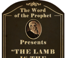 The Lamb is the Future of the City