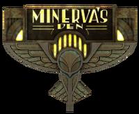 Minerva's Den Sign.png