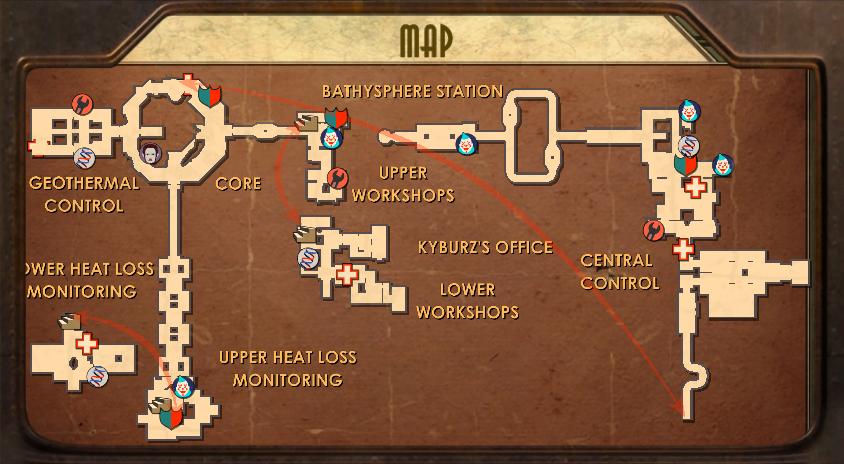 Hephaestus Map