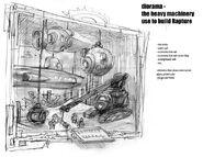 Rapture Memoria Museum Diorama Concept 2