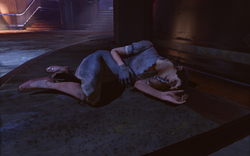 Burial at Sea Episode 2 - Housewares - Bathyspheres DeLuxe - female corpse with male head f0837