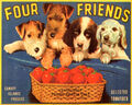 Four Friends Tomatoes Crate Label.jpeg