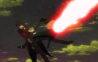 Kagetane critically wounds Rentaro