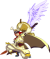 Tsubaki Yayoi (Continuum Shift, Sprite, 2C)