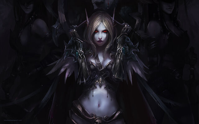 File:Sylvanas Windrunner (Fan Art, User Picture, Night Vision, 1).jpg