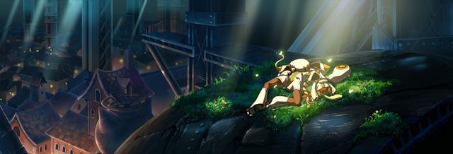 File:Taokaka (Calamity Trigger, Arcade Mode Illustration, 1).png