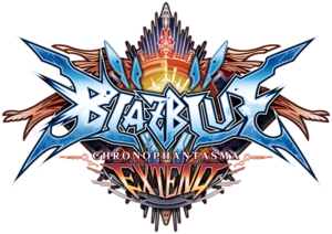 BlazBlue Chronophantasma Extend (Logo)