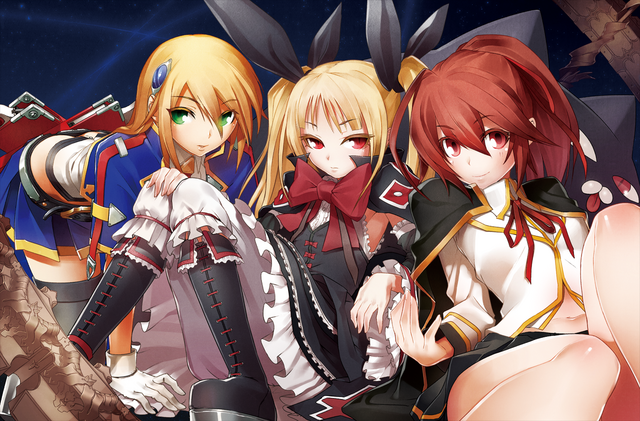 File:BlazBlue Chronophantasma Story Maniacs Material Collection II (Illustration, 1).png