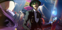 Hazama (Centralfiction, arcade mode illustration, 3, type B)