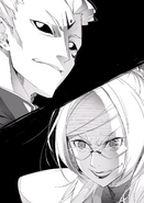 BlazBlue Bloodedge Experience Part 1 (Black and white illustration, 8)