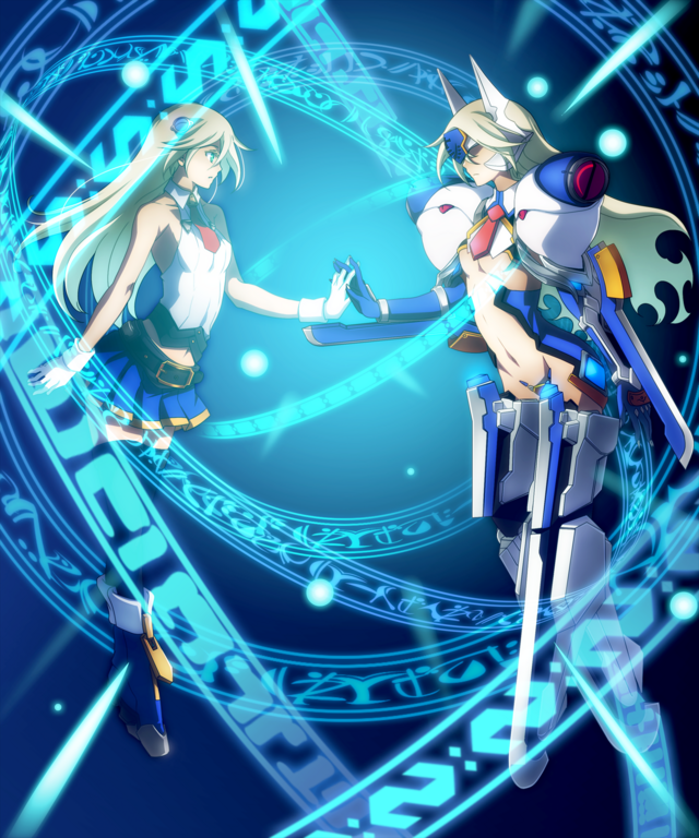 File:Noel Vermillion (Chronophantasma, Arcade Mode Illustration, 2).png