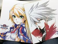 Ragna the Bloodedge, Noel Vermillion (Illustration, Mori)