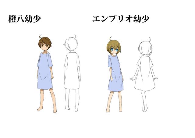 File:Tōya Kagari and Embryo (Concept Artwork).png